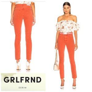 GRLFRND DENIM Karolina High Rise Jeans Size 29